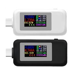 KWS-1902C Type-C Color Display USB Tester Current Voltage Monitor Power Meter