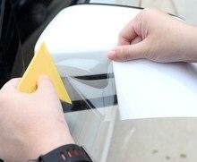 SUNICE-película de protección de pintura PPF para faro trasero de coche, película de protección de Pintura transparente, 30x50cm, a prueba de arañazos