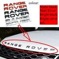 Глянцевый черный матовый серебристый Сталь серый хром эмблема АБС автомобильный Стайлинг автомобиля капот буквы на багажник, логотип, знач...