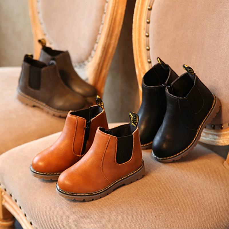 Children Fashion Boots Girls Chelsea