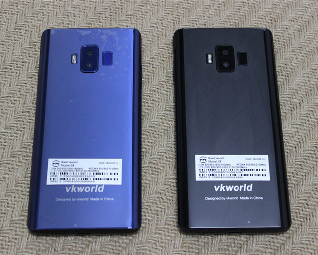 VKworld S8 4GB 64GB Mobile Phone 5500mAh Android 7.0 MTK6750T 4G LTE 16MP+13MP Cameras 5.99'' Full Screen Fingerprint Smartphone|Cellphones|   -