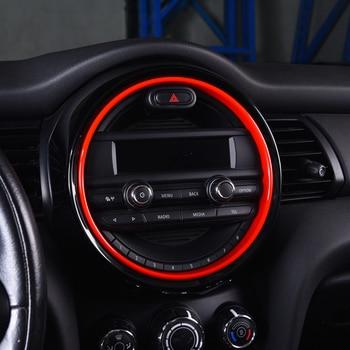 Car Navigation Decoration Sticker For BMW MINI F55 F56 F57 Central Control Instrument Panel Cover Car Modification Accessories