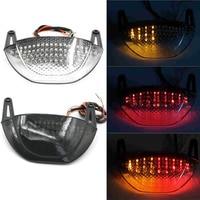 LED Integrated Taillight Rear Tail Brake Turn Signals Light Lens For Honda CBR600RR CBR 600 RR 2007 2008 2009 2010 2011 2012