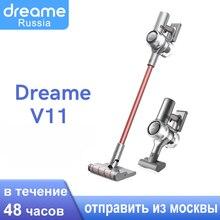 Dreame V11 Ручной Беспроводной Пылесос ЕС Версия OLED 125 Вт Сyclone SPACE 4 Двигатель 150AW 25000Pa Всасывание