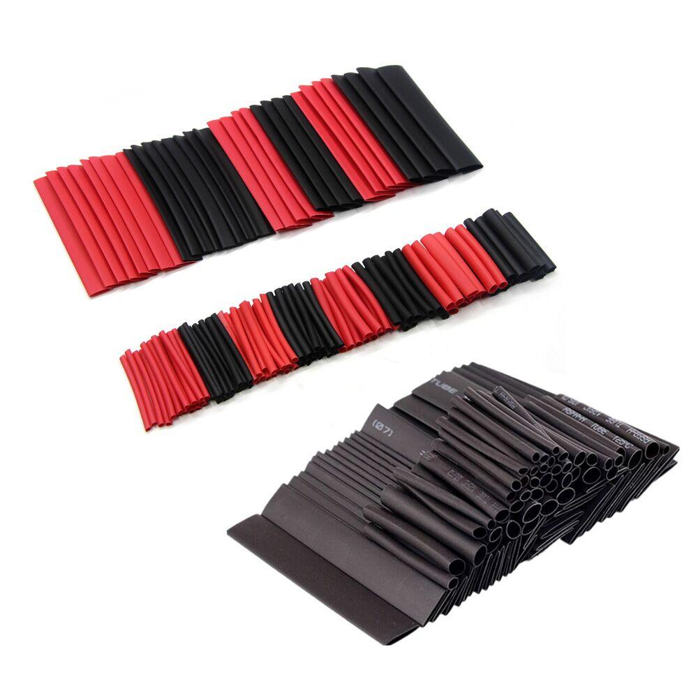 Schrumpfschlauch Wire Wrap Schwarz 25mm Durchmesser Polyolefin 2:1 1m de