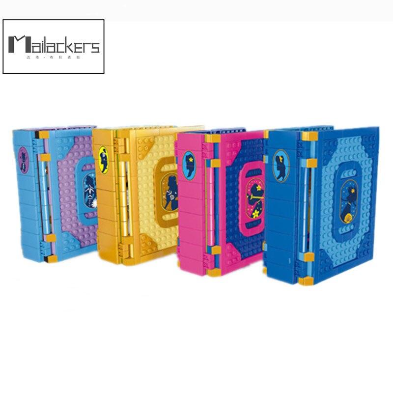 Mailackers девушка друзья Фея Принцесса мечта ледяной замок коллекция книга строительные блоки Обучающие игрушки для девочек подарок для детей