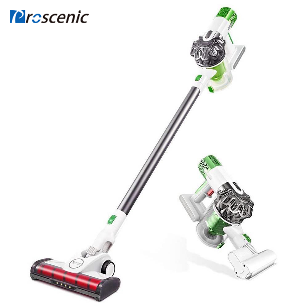 Cordless Vacuum Cleaner 15000pa Powerful Suction Proscenic P9 2 in 1 Dust Collector Led Light Stick Handheld Portable Vacuum