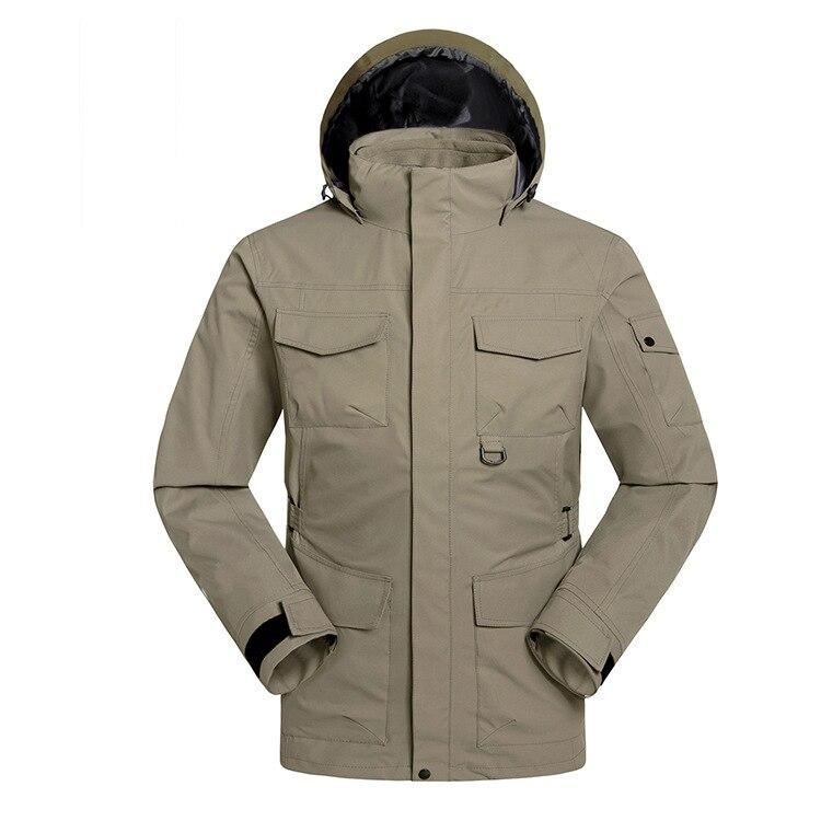 Jaquetas de Esqui Térmica à Prova Água de Alta Qualidade ao ar 3 em 1 Inverno Dwaterproof Livre Snowboard Acampamento Jaqueta Quente Caber Russo-30 Graus