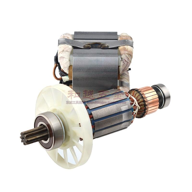 Electric Hammer Armature Rotor For Hitachi PR-25B PR-38E PH-40F High Quality Rotor Stator