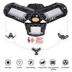 Деформационный светодиодный светильник УФО E27 High Bay Light гаражная лампа 60 Вт 85-265 в светодиодный фонарь для навес АЗС мастерская футбольного