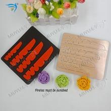 Flower wooden  die cutting accessories Regola Acciaio Die Misura MY5152