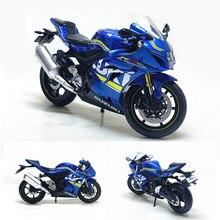 1:12 Suzuki GSX-R1000 мотоцикл модель литая под давлением сплава мотоцикл гоночный автомобиль модели игрушки для мальчиков и девочек Подарки Коллек...