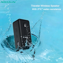 Bluetooth Колонка NILLKIN IPX7 Водонепроницаемая портативная уличная Колонка Bluetooth 5,0 Беспроводная стерео музыка объемный громкий динамик s