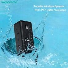 NILLKIN altavoz inalámbrico por Bluetooth 5,0, altavoz portátil exterior resistente al agua IPX7, estéreo, envolvente para música