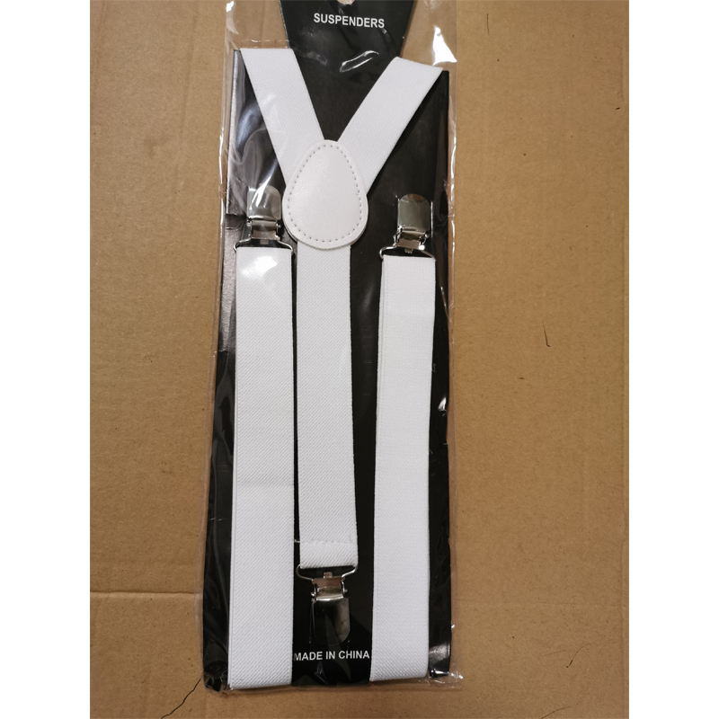 20s 30s Women Mens Solid Color Regular X-Back Clip On Suspenders Adjustable Formal Dress Tux Drop Shipping