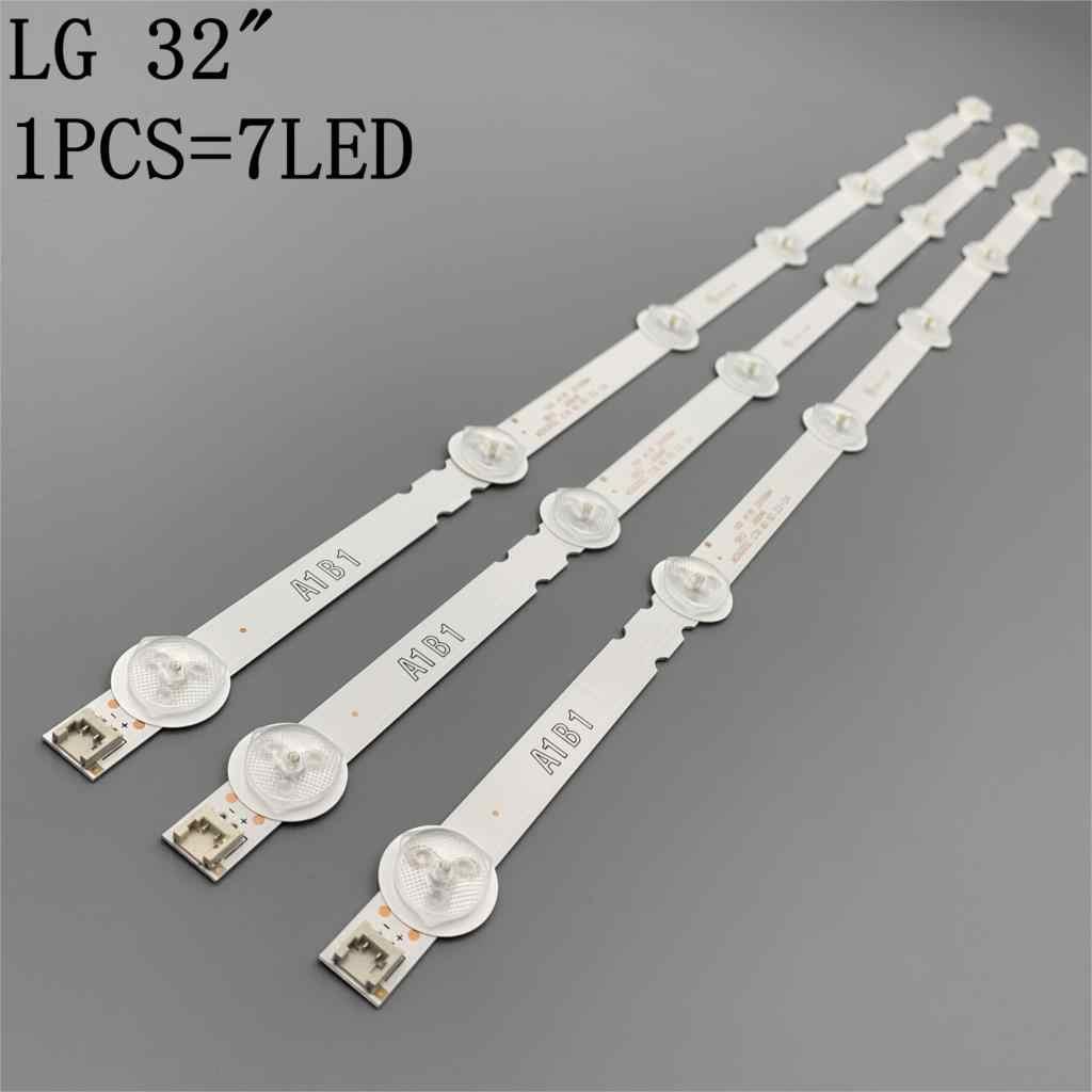 630Mm 7 Đèn Nền LED Đèn Dải Cho LG 32 Tivi 32ln541v 32LN540V A1/B1/B2-Type 6916L-1437A 6916L-1438A 6916L-1204A 6916L-1426A