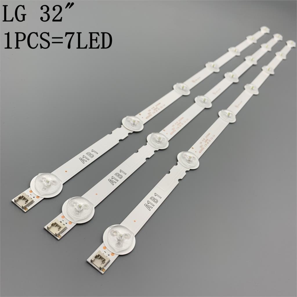 630mm 7 LED lámpara de luz de fondo de para LG 32 TV 32ln541v 32LN540V A1/B1/B2-Type 6916L-1437A 6916L-1438A 6916L-1204A 6916L-1426A 630mm 7 retroiluminación LED tira de la lámpara para LG 32 TV 32ln541v 32LN540V A1/B1/B2-Type 6916L-1437A 6916L-1438A 6916L-1204A 6916L-1426A