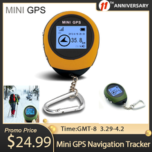 GPS Trackers Location-Finder Outdoor Rechargeable Chain USB Kay