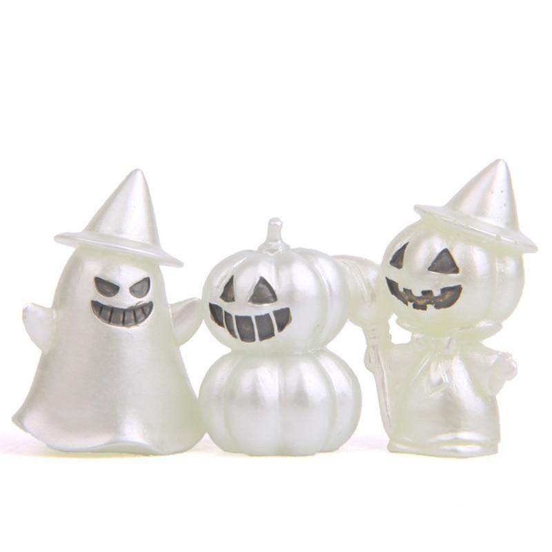 for Micro Landscape Gnomes Garden Decoration Luminous Garden Ghost Miniature Figurines Glow in Dark Tree Elves Garden Decor 10pcs