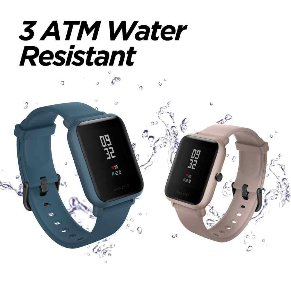 מקורי Amazfit ביפ לייט הגלובלי גרסה חכם ספורט שעון 45-יום סוללה חיים Smartwatch עבור אנדרואיד IOS טלפון