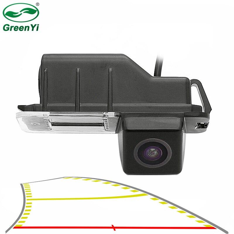 Rear-View-Camera Passat Cc Reversing-Backup Volkswagen Polo Golf 6 Dynamic Trajectory