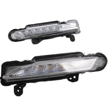 LED Daytime Running Fog Lights Turn Indicator Bumper DRL fit for Toyota Yaris