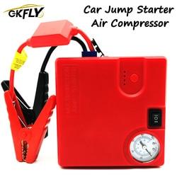 GKFLY wielofunkcyjny 16800mAh urządzenie zapłonowe 12V urządzenie do uruchamiania awaryjnego samochodu pompa powietrza 400A ładowarka samochodowa do wzmacniacz do akumulatora samochodowego Buster LED