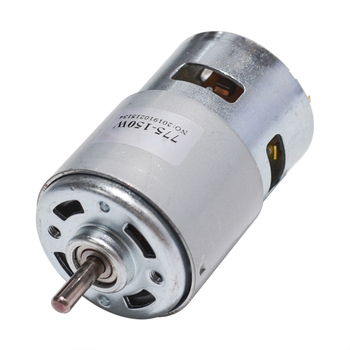 775 silnik DC 12V 24V 80W 150W 288W silnik prądu stałego duży moment obrotowy wysokiej mocy silnik prądu stałego podwójne łożysko kulkowe silnik wrzeciona tanie i dobre opinie CN (pochodzenie)