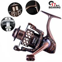 Spinning Reel 17+1BB 5.2:1 High-Speed Gear Ratio Smooth Long Casting Powerful Fishing Reel Fishing Accessories