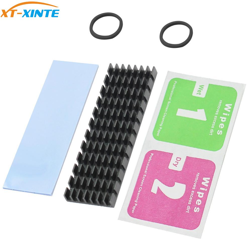 Upgraded Heatsink Cooler Heat Sink Cool Fin Thermal Conductive Adhesive For M.2 NGFF 2280 PCI-E NVME SSD 70*22mm Thickness 3/6mm