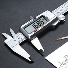 все цены на 6 Inch 0-150mm Caliper Measuring Tool LCD Display Digital Vernier Caliper Measuring Instrument Plastic Vernier Caliper онлайн