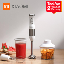 XIAOMI QCOOKER CD HB01 יד בלנדר חשמלי כוס מטבח נייד מעבד מזון מיקסר מסחטה ירקות לבשל רב פונקציה