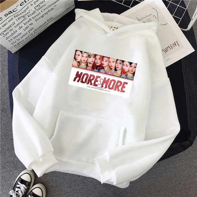 TWICE MORE & MORE THEMED HOODIE (6 VARIAN)