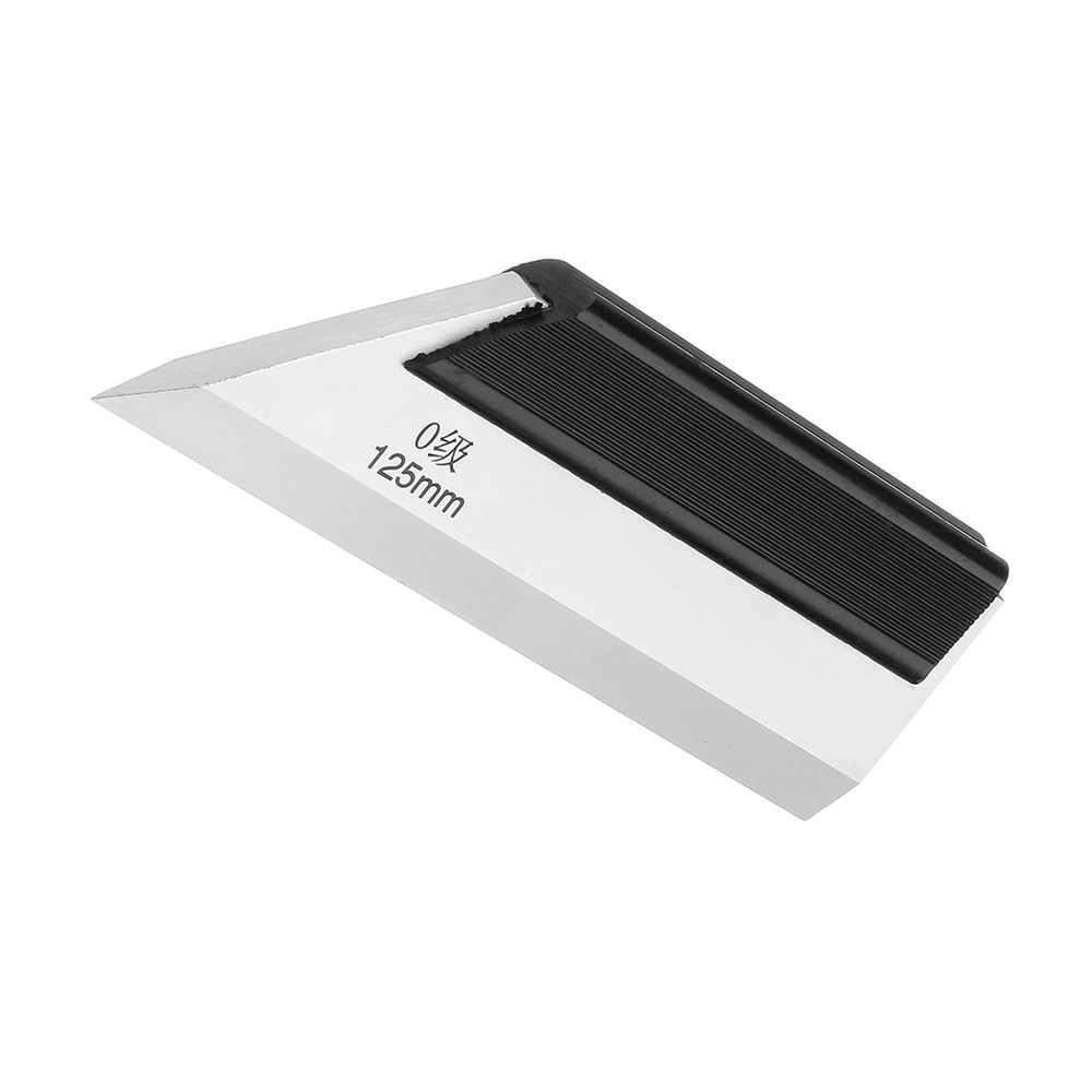 ZEAST Machinist Precision Edge Ruler 75/100/125mm Engineer Straight Ruler Flat Measuring
