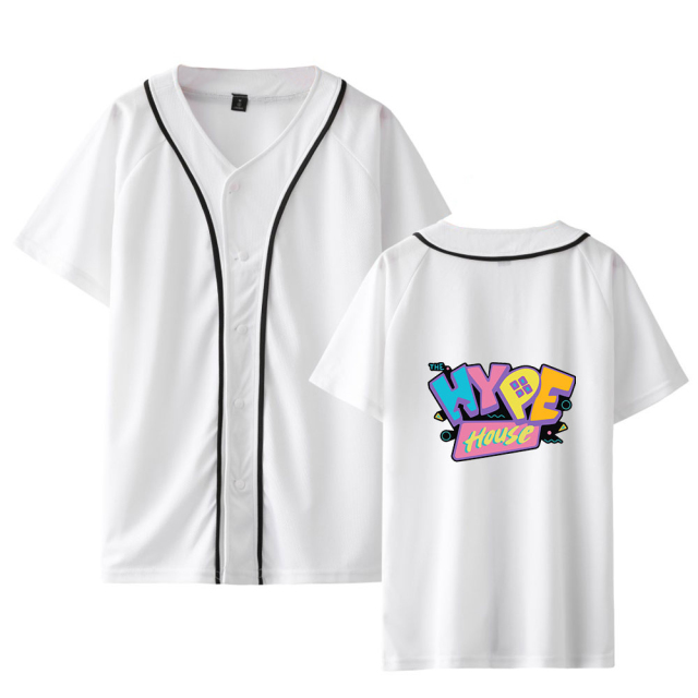 THE HYPE HOUSE THEMED BASEBALL T-SHIRT (10 VARIAN)