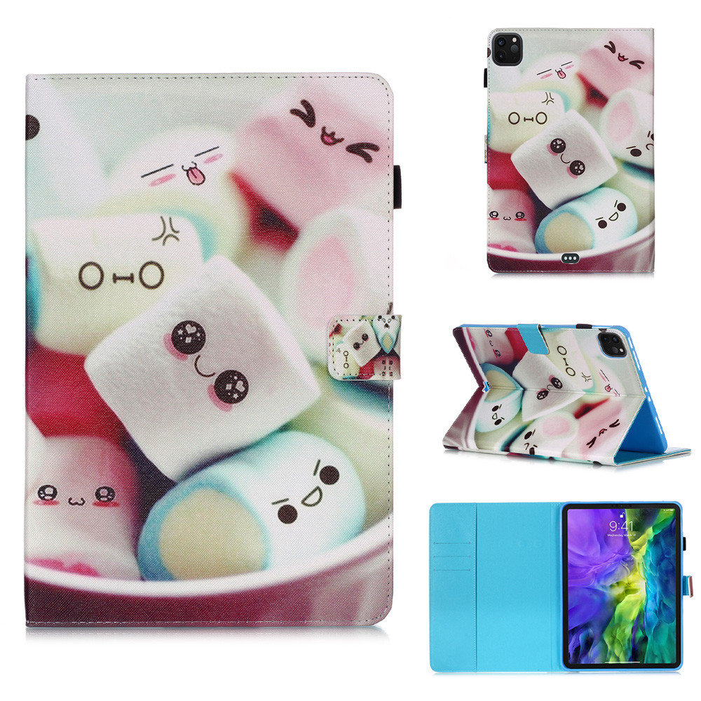 10 Silver Owl Flowers Tablet Cover For iPad Pro 11 Case 2020 Coque Wallet Stand Tablet Funda For
