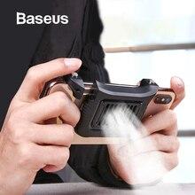 Baseus мобильный телефон кулер для iPhone Xs Max Xs XR игровой шутер контроллер для samsung huawei 4,7-6,5 дюймов аксессуары для телефонов