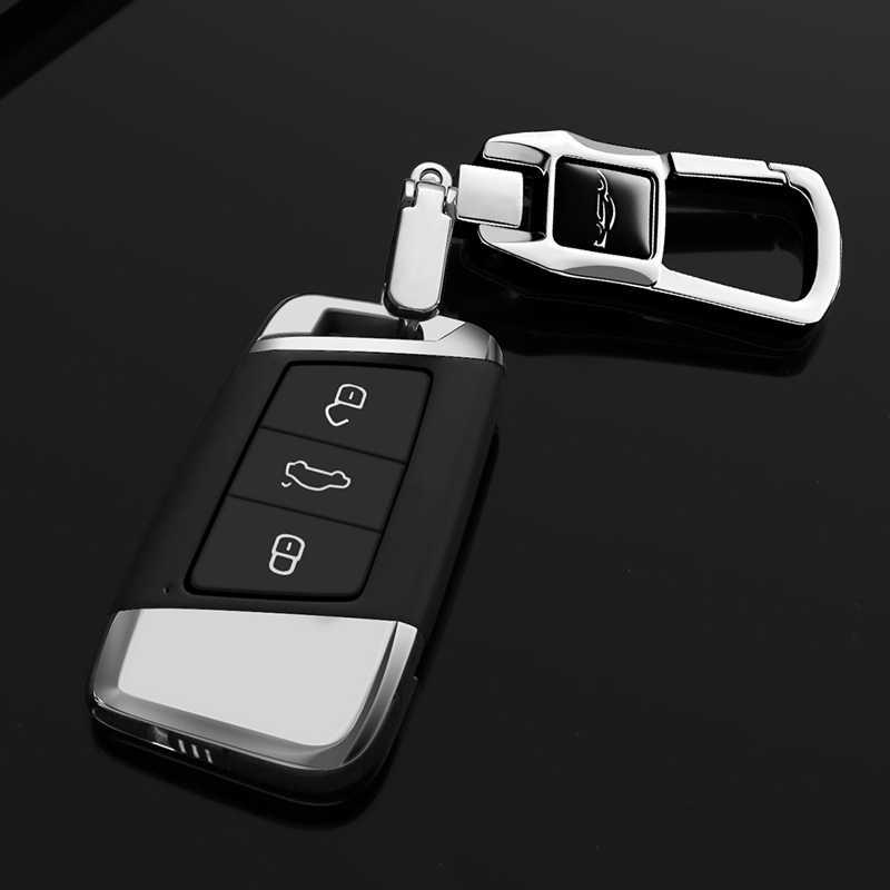 Mofan llavero de cuero de coche llavero de metal para coche llavero especial regalo creativo autopartes aplicables a Audi, VW Bmw Mercedes-se