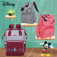 Disney Mickey Minnie Baby Diaper Bag Backpack Large Capacity Mummy Multifunction Baby Backpack Nappy Bag Baby Stroller Bag Nappy