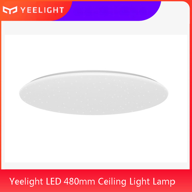 Yeelight plafoniera 480 Smart APP / WiFi / Bluetooth LED plafoniera soggiorno telecomando Google Home