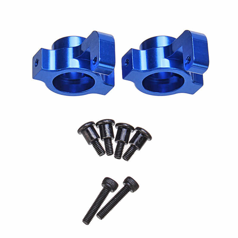 2PCS Remo A2507 Blue Mental Front RC Car Steering Cup For 1/16 1621 1625 1631 1635 1651 1655 Vehicle Models