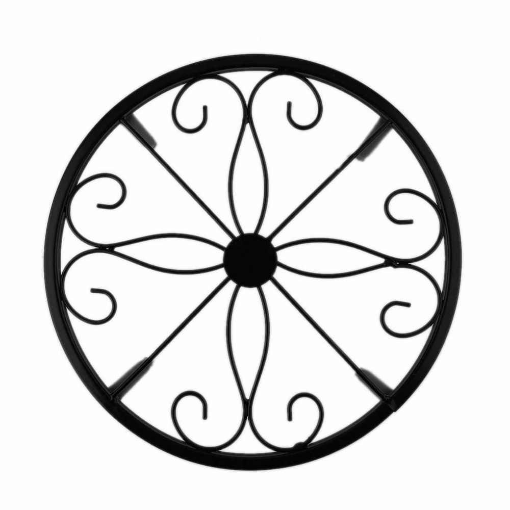 النمط الأوروبي رف أحواض زهور تصميم المعادن بونساي بوعاء النبات الوقوف المنزلية غرفة الجلوس شرفة الزهرية الرف