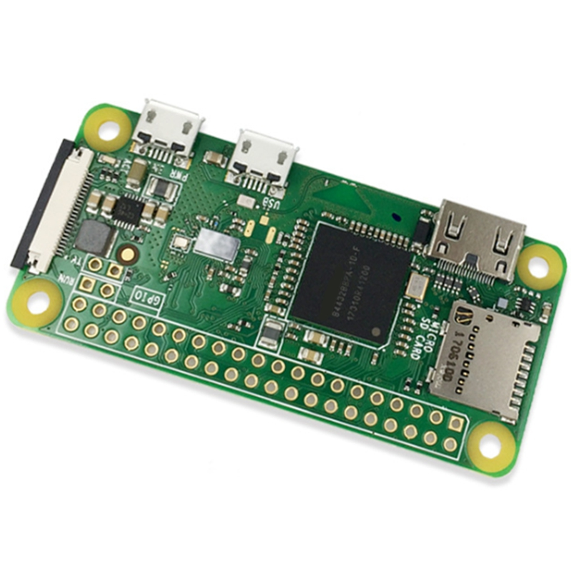 HOT-for Raspberry Pi Zero W Wireless Pi 0 with WIFI and Bluetooth 1GHz CPU 512MB RAM Linux OS 1080P HD Video Output