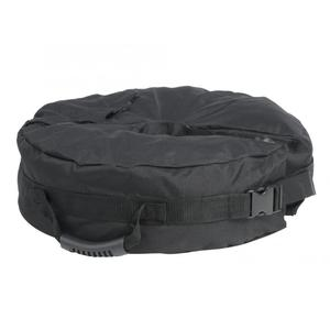 Black Round Shape Sandbag for