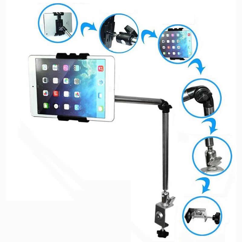 Arvin هاتف تابلت حامل ل فون X 8 سامسونج S9 قابل للتعديل سطح المكتب السرير اللوحي الوقوف ل باد الهواء البسيطة 4- 10 بوصة مثبت طاولات