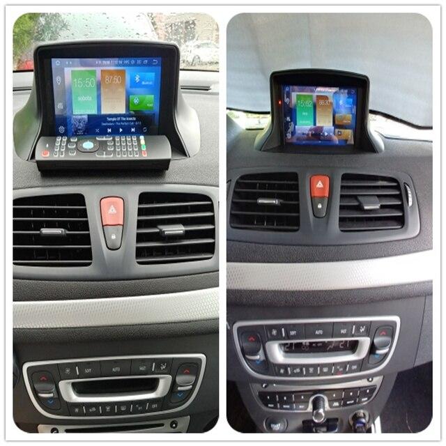 Android 10.0 Car Stereo DVD Player GPS Glonass Navigation for Renault Megane 3 Fluence 4GB 32G  Video Multimedia Radio