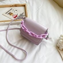 Summer bag female 2020 new chain small square bag fashion wild texture shoulder messenger bag messenger bag  women handbags цена 2017