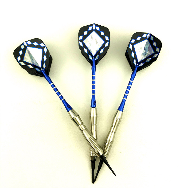 3 Pieces / Set Of Darts Professional 18 Grams Soft Darts Aluminum Shaft Good Darts Flight High Quality