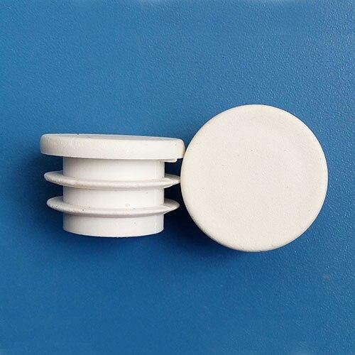 uxcell 20Pcs 39mm Inner Dia PE Plastic End Cap Bolt Thread Protector Tube Cover