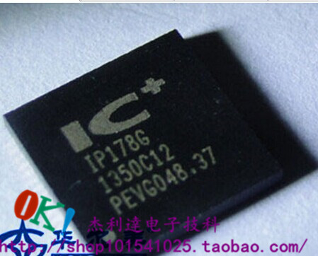 IP178G new original IC PLUS SMD QFN-68 Ethernet switch chips image